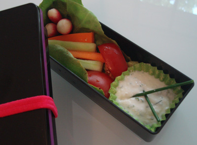 Sauce Fromage blanc aux Herbes Bento