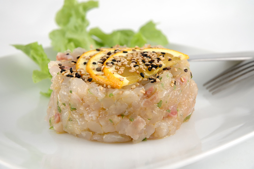 Tartare Asiatique de Daurade