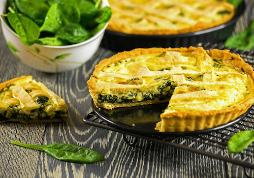 Quiche aux Epinards