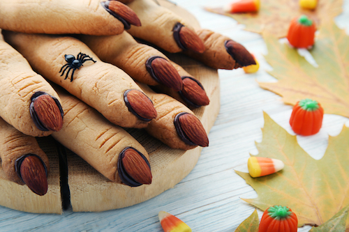 10 doigts pour Halloween