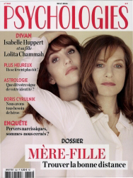 Couverture Psychologies Magazine